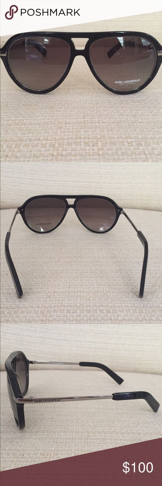 Women's Karl Lagerfeld Sunglasses New, Never worn. Comes with case. Karl Lagerfeld Accessories Sunglasses