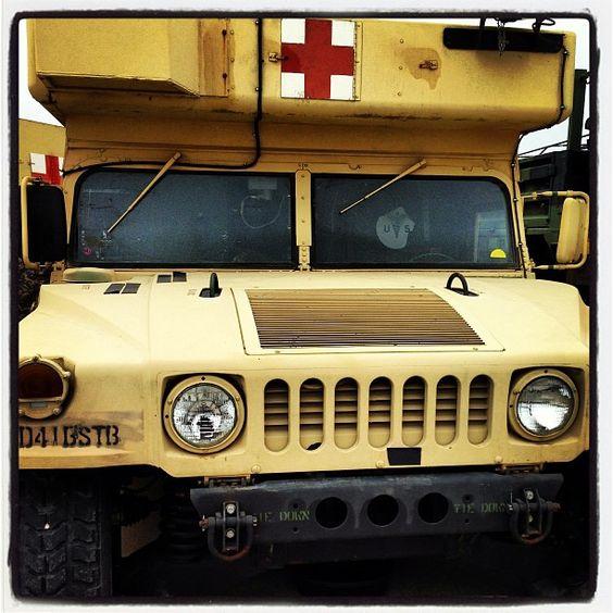 Old Hummer H1 ambulance. Photo by seekings