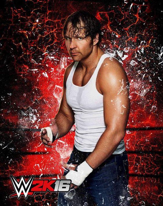 Dean Ambrose en WWE 2K16 - twitter.com/wwegames