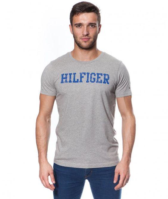 Tommy Hilfiger Gow crew neck Grey T-Shirt