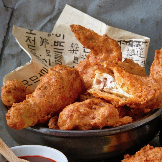 This stunning Korean fried chicken by Judy Joo takes the dish to a whole new level.