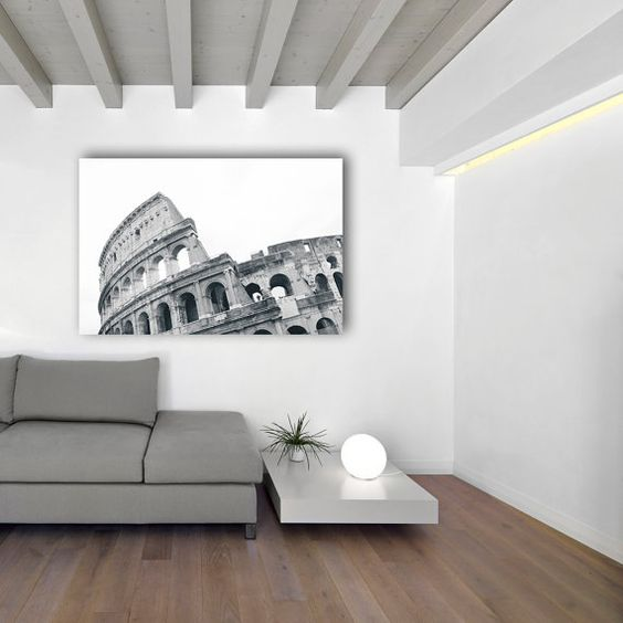 Gladiator  Rome Italy  Photography Canvas  by KristenEmmaPhoto