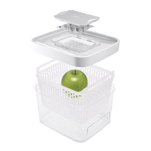 Oxo Green Saver Contenitore Conservazione Alimenti, Plastica, Trasparente: Amazon.it: Casa e cucina