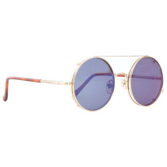 Sunday Somewhere Valentine Sunglasses ($290) ❤ liked on Polyvore featuring accessories, eyewear, sunglasses, tea and tea glasses