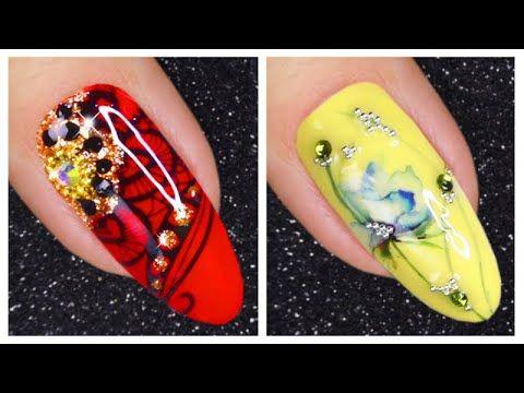 Nail Art Designs 2020 New Nails Art And Nail Hacks Youtube In 2020 Nail Art Designs Videos New Nail Art Nail Art Designs