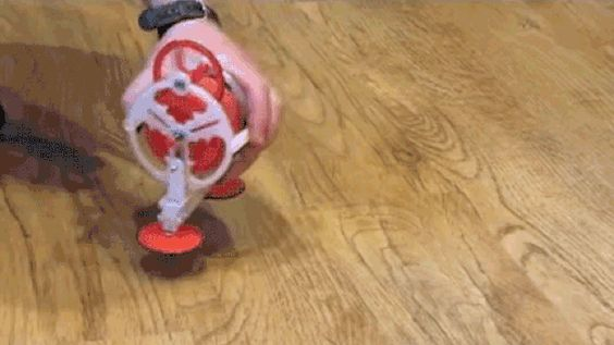 Got Loose Change? 104 Pennies Help This Simple 3D Printed Toy Walk