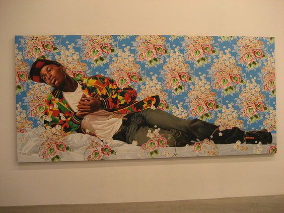Kehinde Wiley - Down @ Deitch Projects by WWW.FYCGALLERY.COM, via Flickr