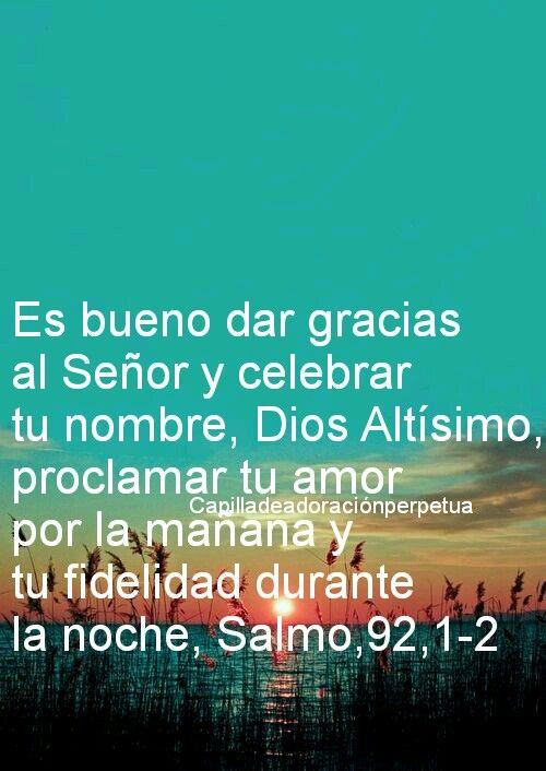 Feliz día pon tu confianza en Dios y todo será bendición