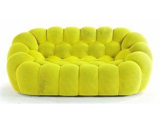 Canapé capitonné en tissu BUBBLE - ROCHE BOBOIS