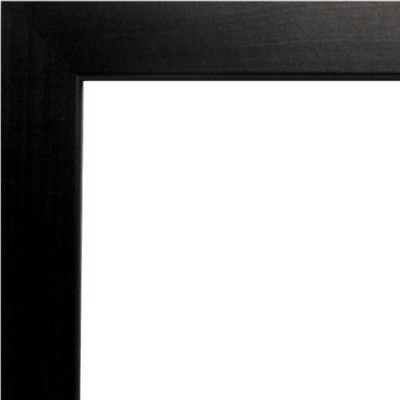 varick gallery wide smooth picture frame color black size 19 x 25