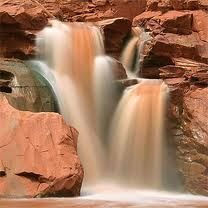 Flash flood - Capitol Reef National Park - Utah, USA