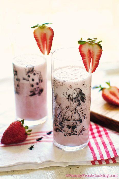 Super-Easy and Seasonal Strawberry Milk
