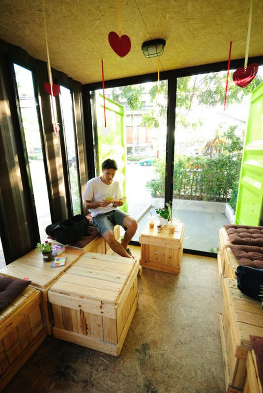 Container Cafe' |  www.54-11.com GLOBAL@Argentina.com Venta de #containers #maritimos, venta de #contenedores #refrigerados y de #carga seca. Servicios de Comercio Exterior Container_Design