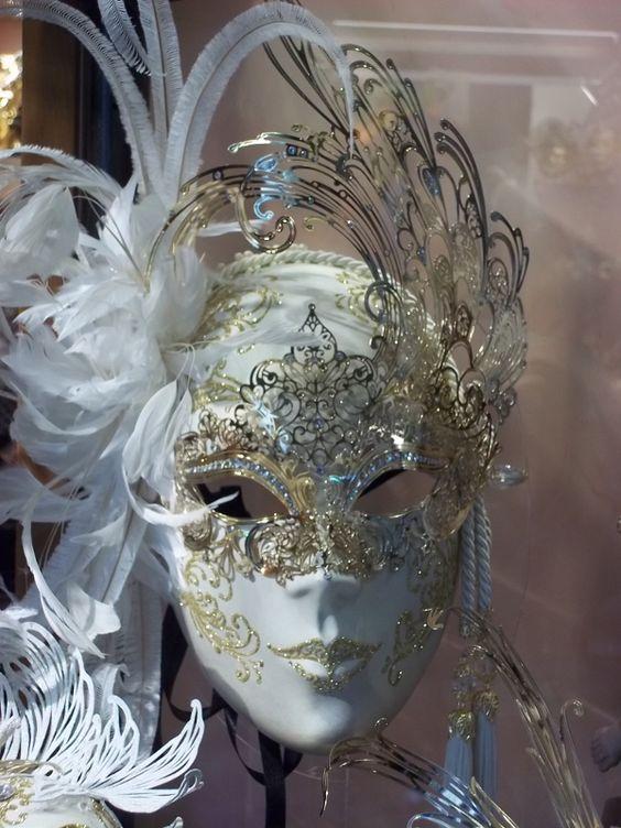 Máscara artesanal-Veneza
