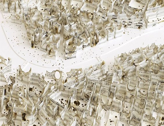 Cartographic Paper Sculptures Reveal Global Cities' History - My Modern Met