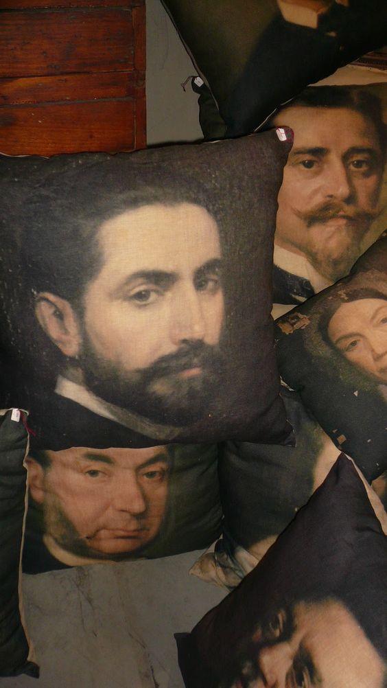 portrait cushions