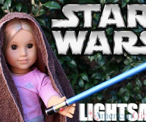 American Girl Star Wars Lightsaber: