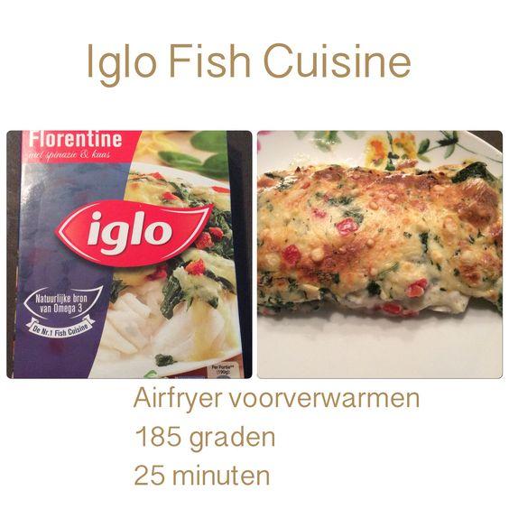 Iglo fish cuisine recepten