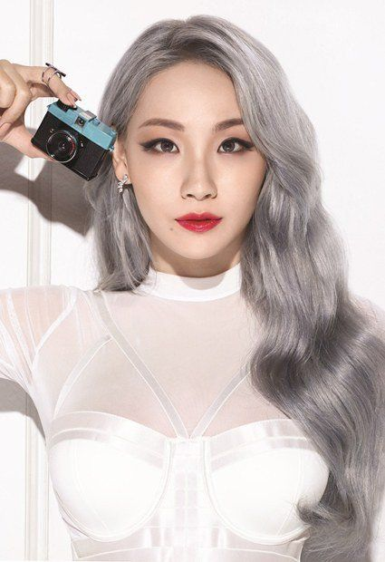 CL is a glamorous model for