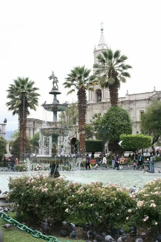 Arequipa, Plaza de Armas!!!
