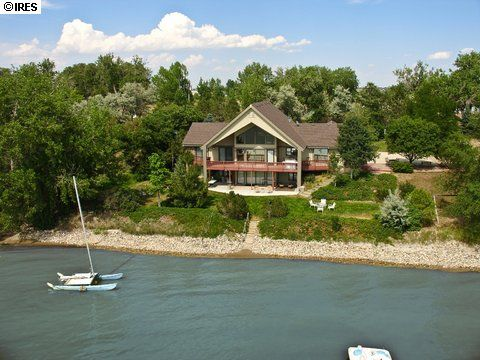 Someday we will live on a lake...Maybe in this house :)