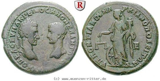 RITTER Moesia Inferior, Markianopolis, Diadumenianus, Macrinus, Nemesis #coins