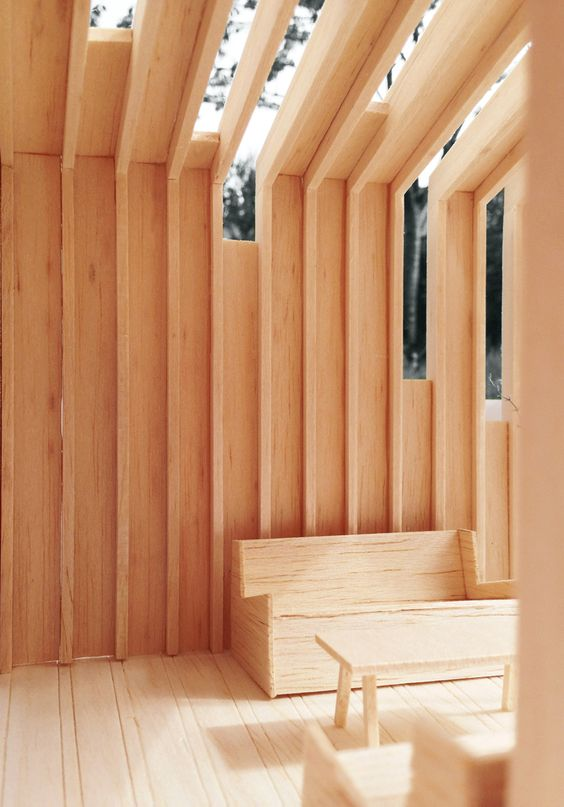 garden room sustainable timber self build north yorkshire oak interior skylights architecture