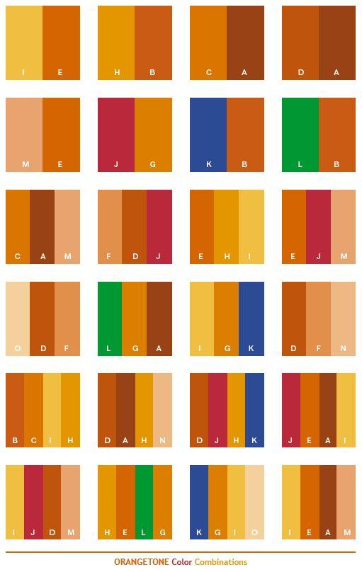 Blue Orange Orange Color Palettes And Orange Color