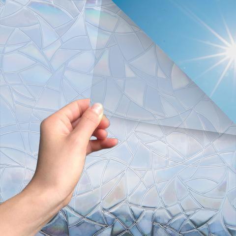 Fensterfolie Mit Regenbogeneffekt Statische Haftung Blickdicht S Marapon Fensterfolie Sichtschutzfolie Folie