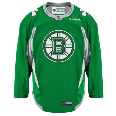 #buymesomething.. In small plz! Boston Bruins Green St. Patrick's Day Practice Jersey