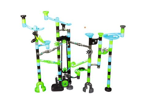 Glow In The Dark Electronic Marble Run Sharper Image In 2020 Marble Run Diy Marble Marble Tracks