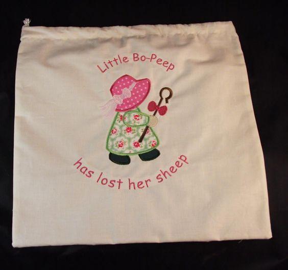 Story Sack Bag Nursery Rhyme Sack Little Bo Peep Education Resources