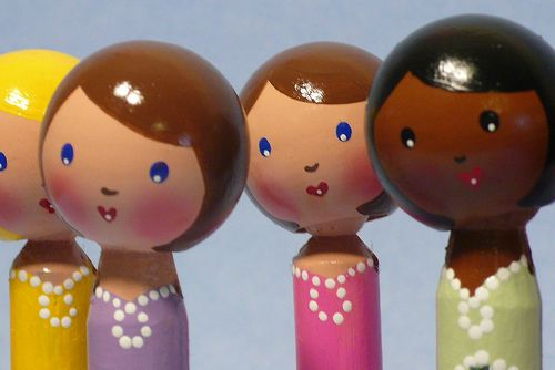 New Batch of Clothespin Dolls