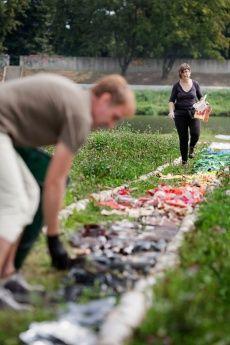 Land Art Opole 2012, Angels Artigas / Daniel Vilana Riera, fot. M.Chruściel