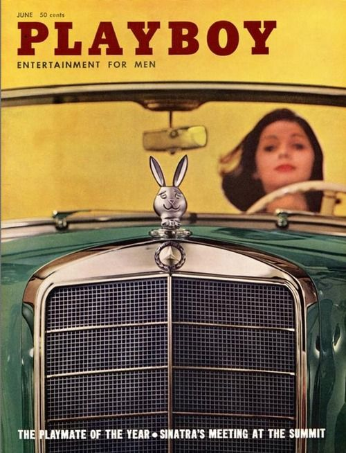 Playboy cover, June 1960