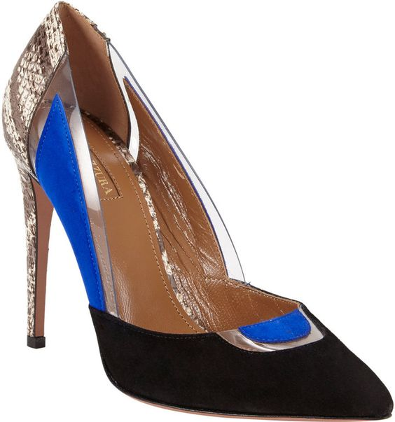 Barneys New York Aquazzura Positano Pump on shopstyle.com