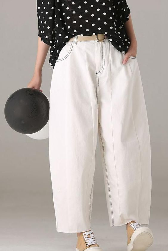 29 Woman Pants For Your Perfect Look This Spring outfit fashion casualoutfit fashiontrends