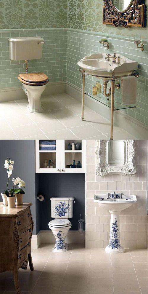 Bathroom Interior Design, Vintage Style Bathrooms