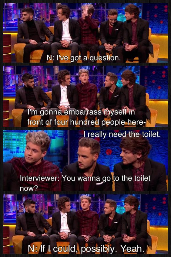 One Direction on The Jonathan Ross Show // One Direction Funny Moments of 2013 // Niall Horan