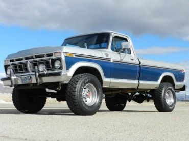 1977 FORD F250 RANGER XLT 4X4 HIGHBOY ORIGINAL WITH AIR CONDITIONING 70+ PICS, image 1