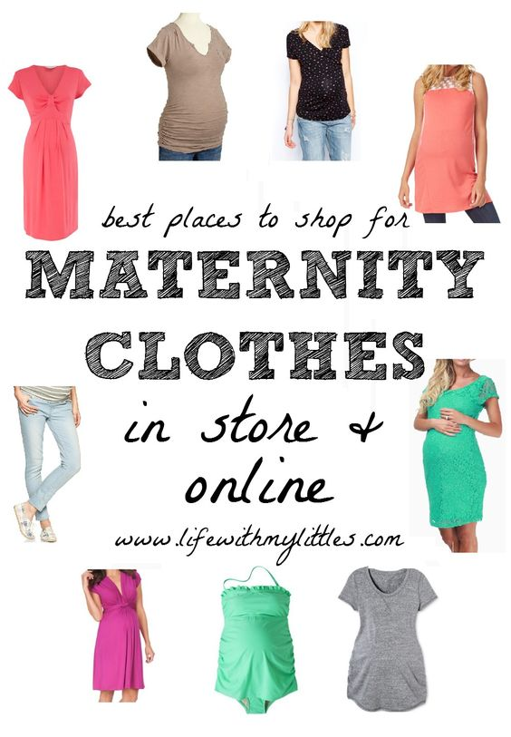 how to shop for maternity clothes