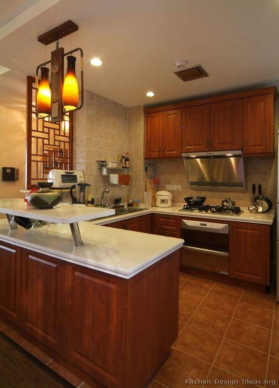 Asian kitchen kitchen designs and kitchens on pinterest for Asian kitchen design ideas