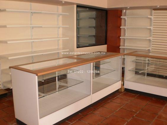 Diseño y fabricacion de muebles de tienda, muebles tipo ...