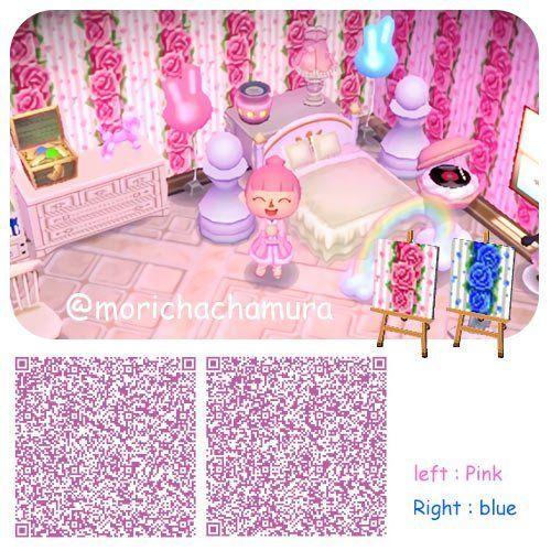 Pink Und Blue Rose Wallpaper Qr Codes Qr Codes Animal Crossing