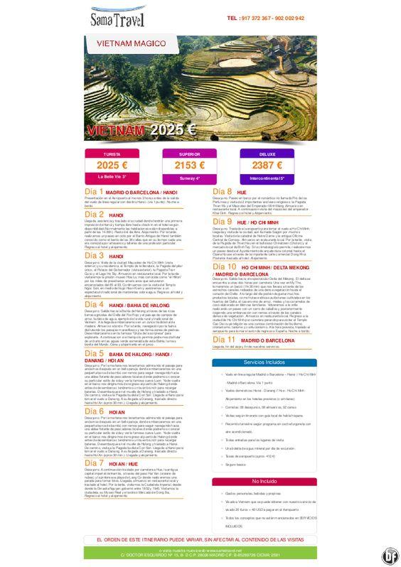 Vietnam Mágico Desde 2025 € - http://zocotours.com/vietnam-magico-desde-2025-e/