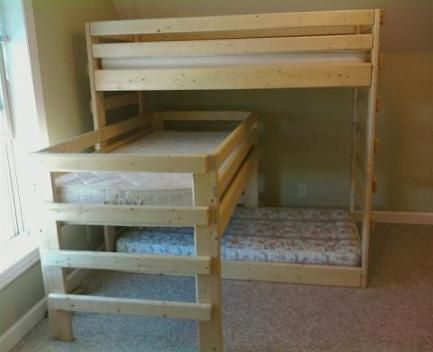 Triple Bunk Beds Bing Images For The Home Pinterest
