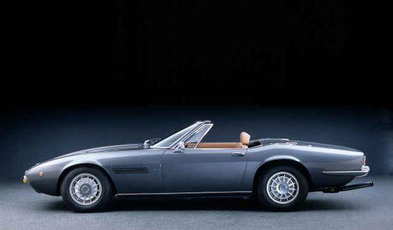 21 Good Looking Photos of Vintage Maserati Rides - Airows