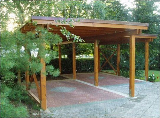 Wooden Carports Designs Cedar Pinteres