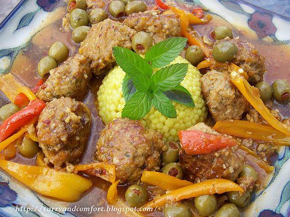 Mediterranean Chicken and Hummus Meatballs in Apricot Glaze