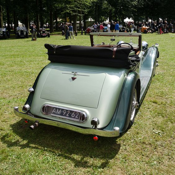 Alvis Speed 25 DHC 1939 by Pics-from-Amsterdam, via Flickr